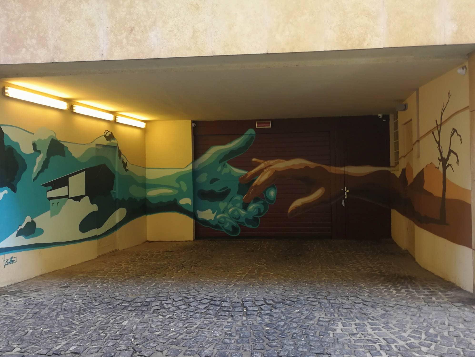 murale budapeszt