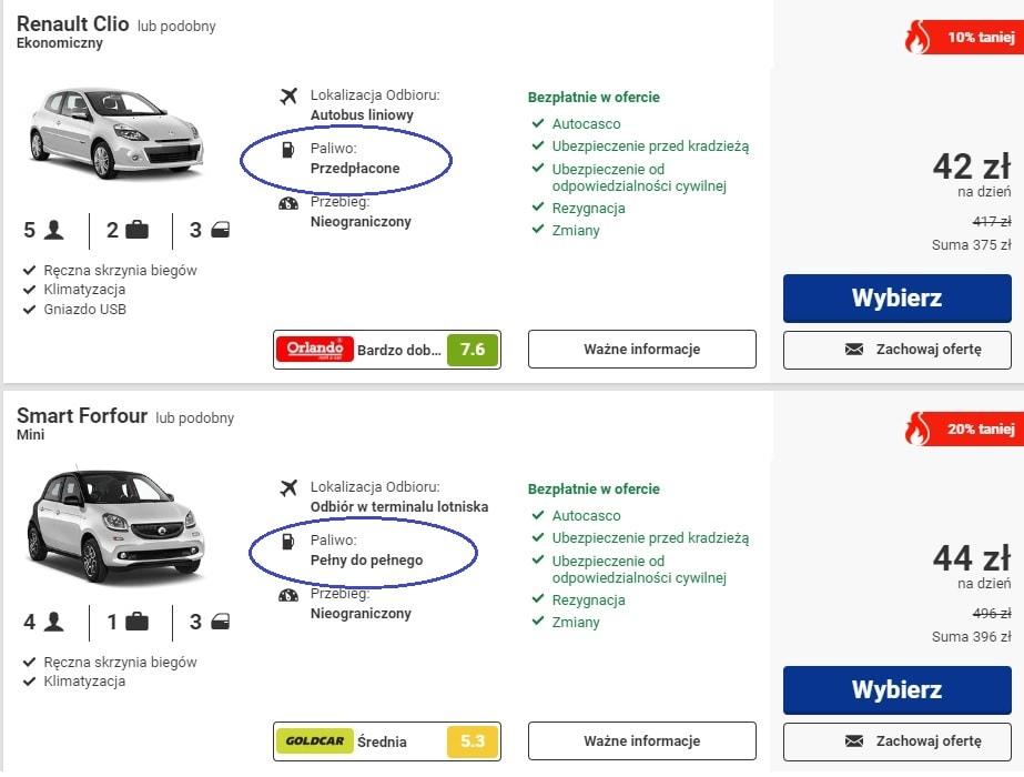 Wypożyczenie samochodu za granicą - na co zwrócić uwagę? 20