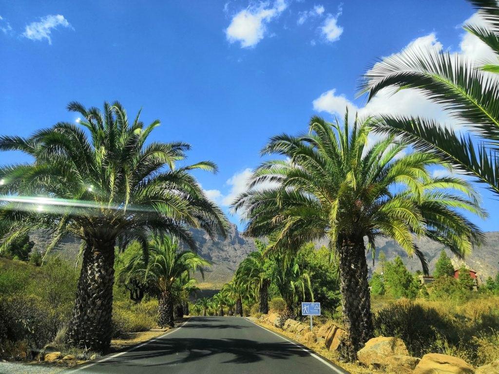 Gran Canaria, road