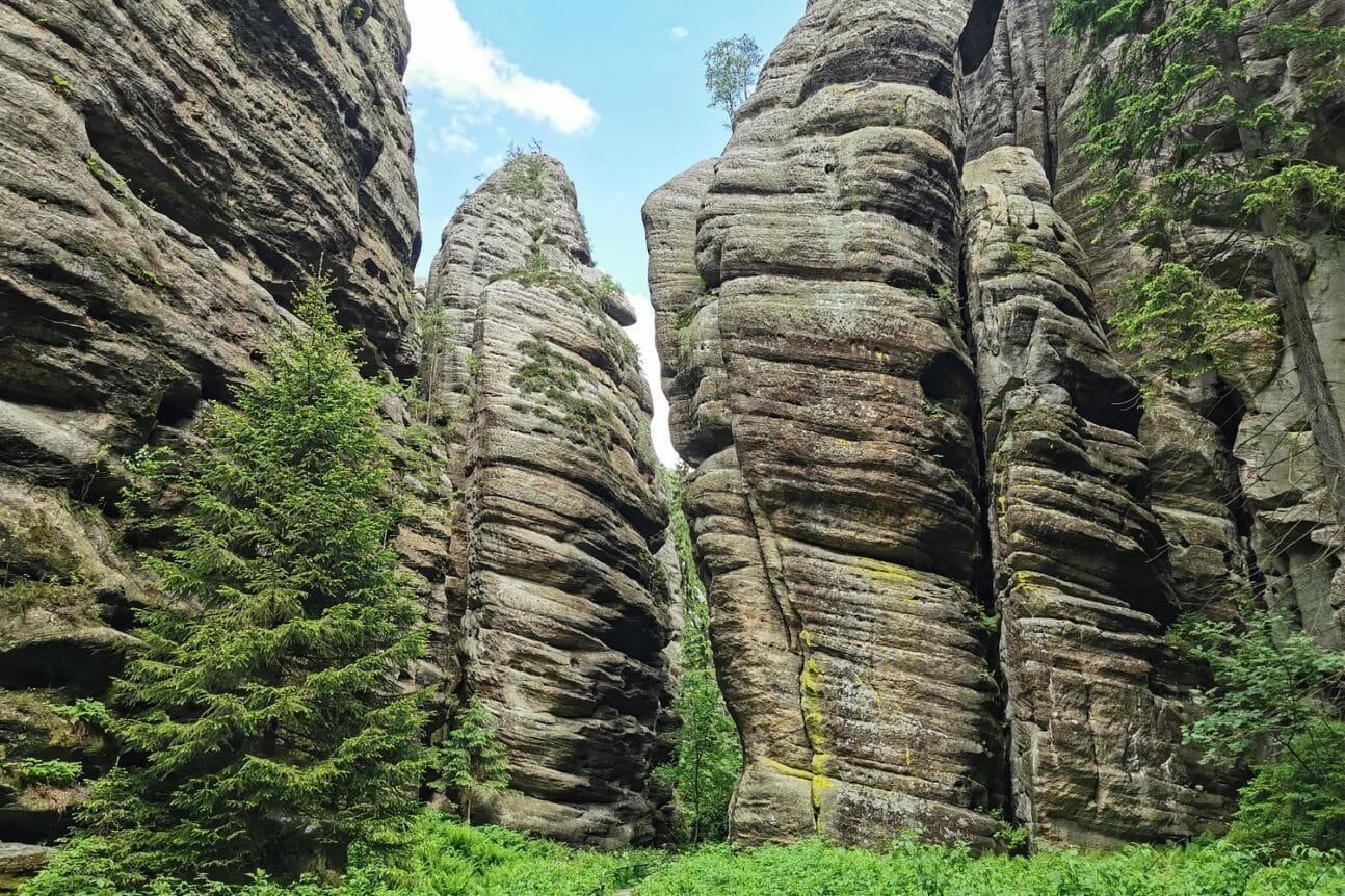 Teplickie Skały w Czechach – wyjątkowe skalne miasto w Górach Stołowych 16