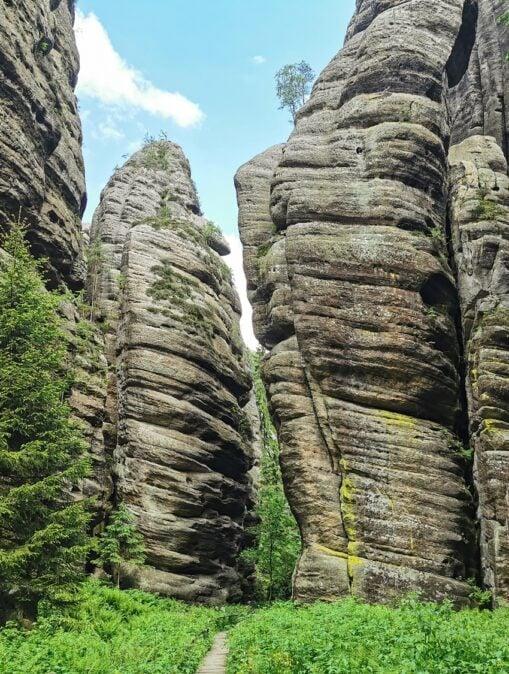 Teplickie Skały w Czechach – wyjątkowe skalne miasto w Górach Stołowych 27