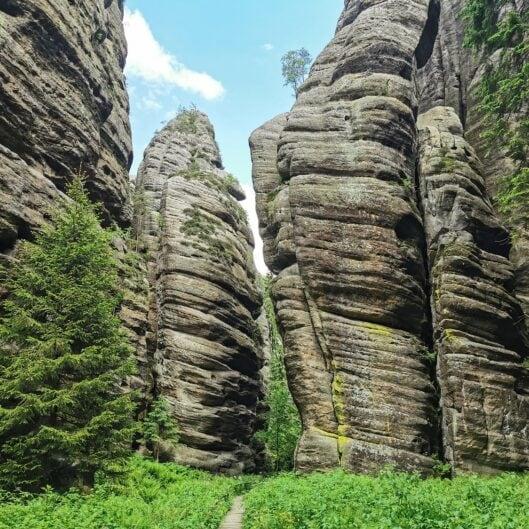 Teplickie Skały w Czechach – wyjątkowe skalne miasto w Górach Stołowych 25