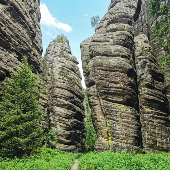 Teplickie Skały w Czechach – wyjątkowe skalne miasto w Górach Stołowych 15
