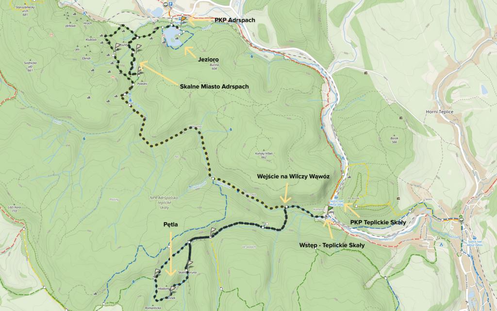 Teplickie Skały w Czechach – wyjątkowe skalne miasto w Górach Stołowych 18