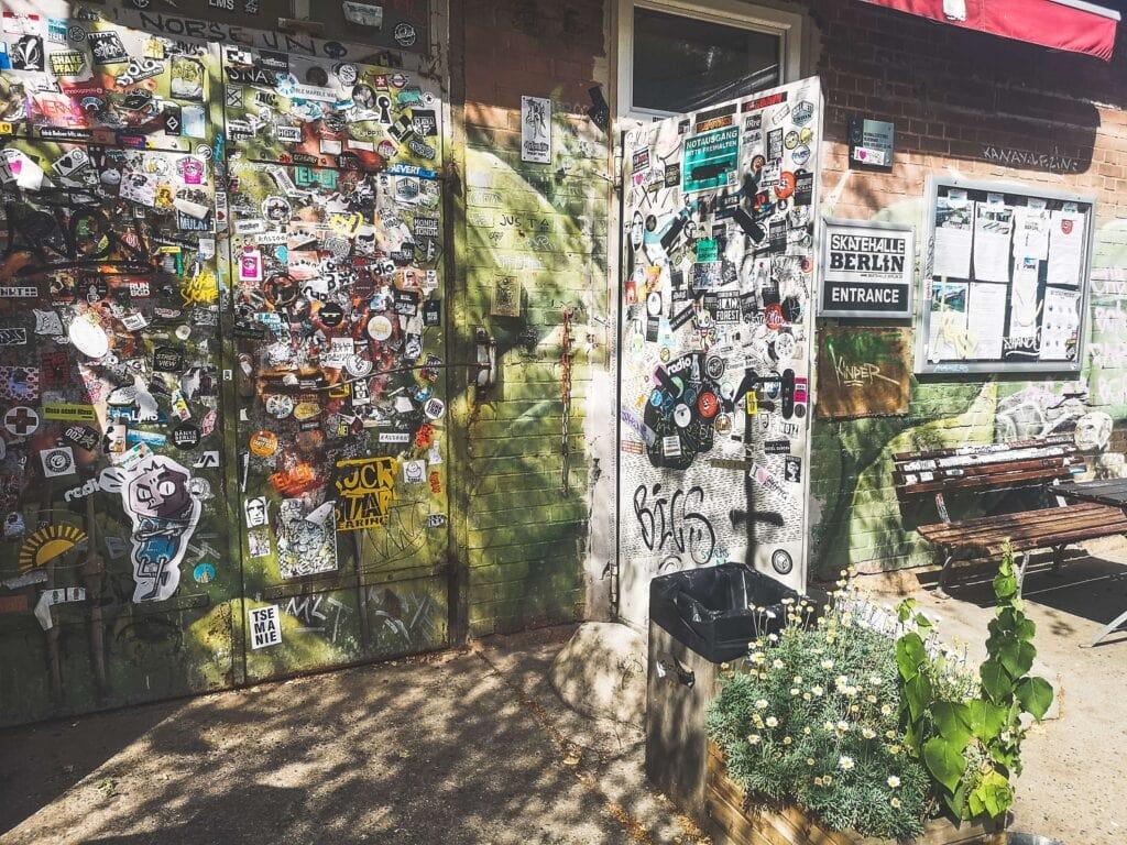 RAW Berlin - wejście do klubu