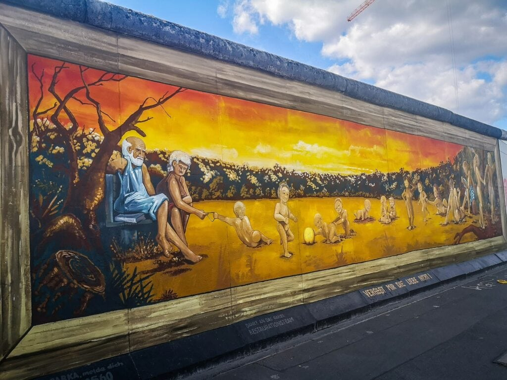 East Side Gallery - wielki mural
