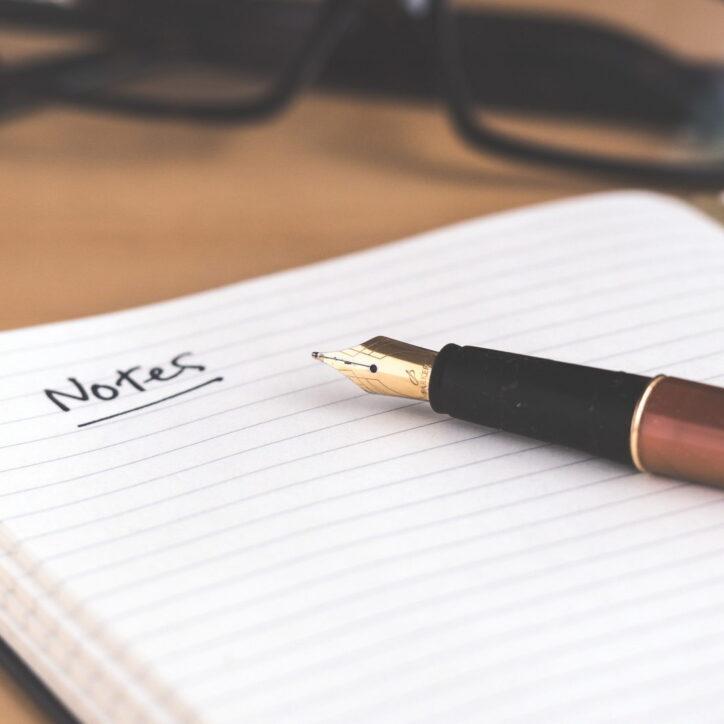 notest notatki zapamiętywanie długopis