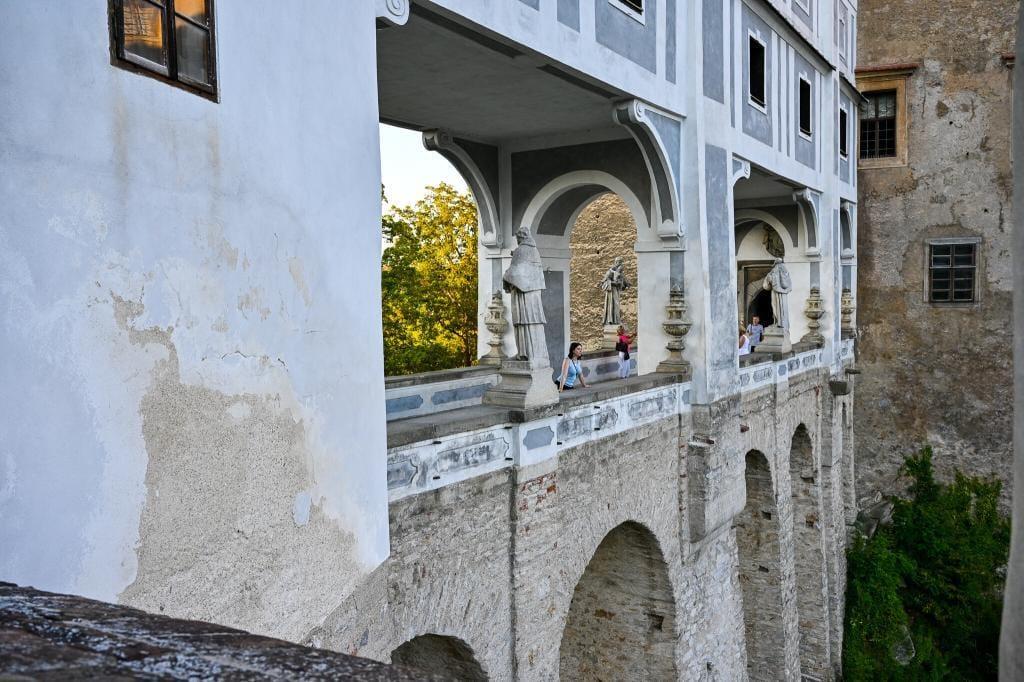 Czeskie Budziejowice zamek