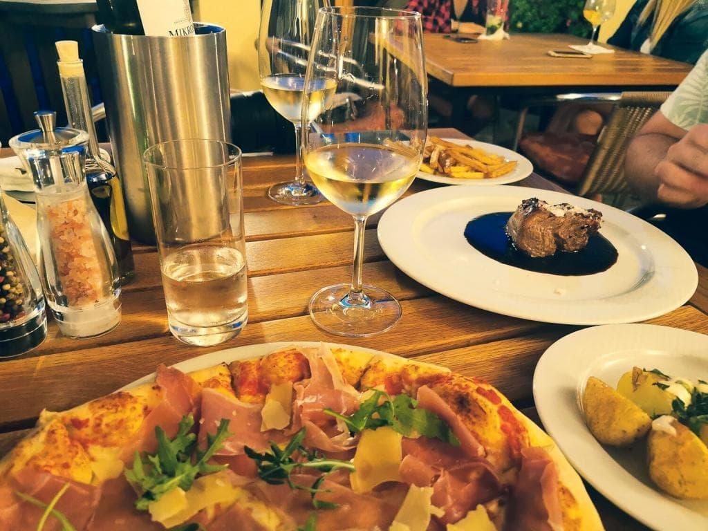 Pizza, stek, wino Ceske Budejovice