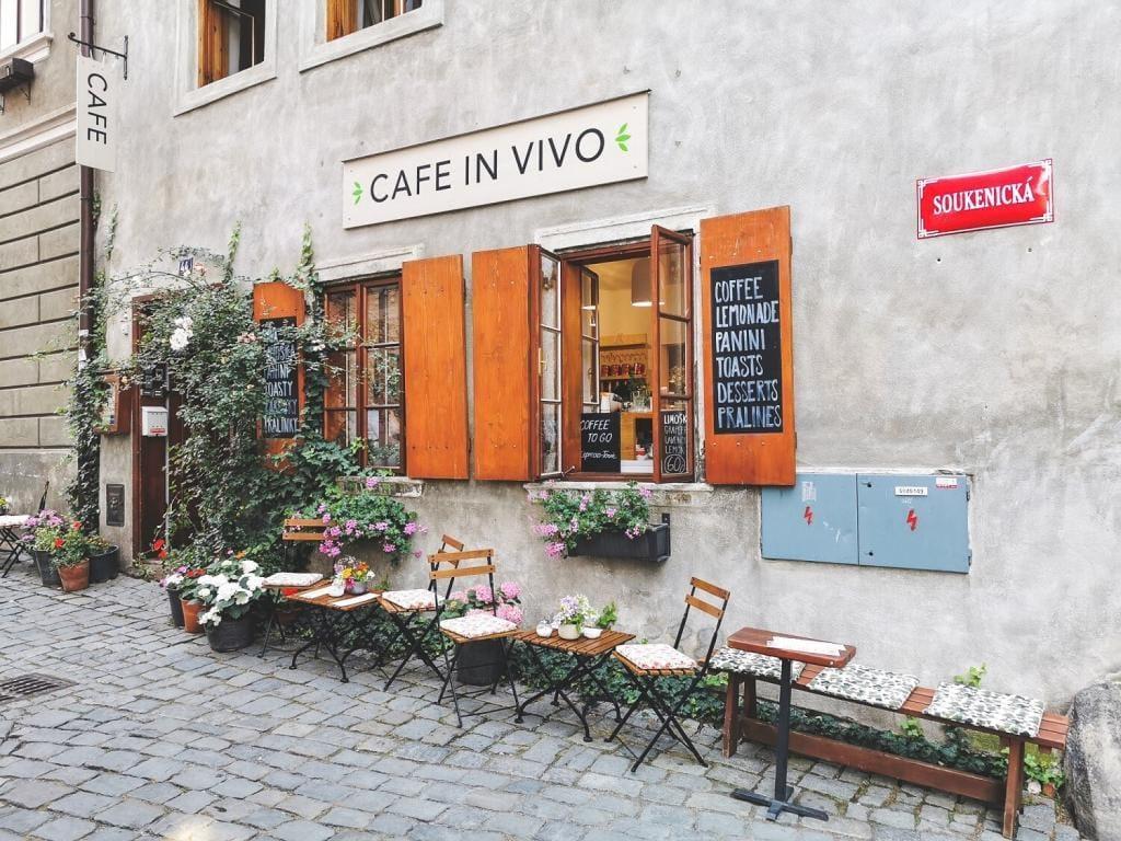 Kawiarnia Czeskie Budziejowice