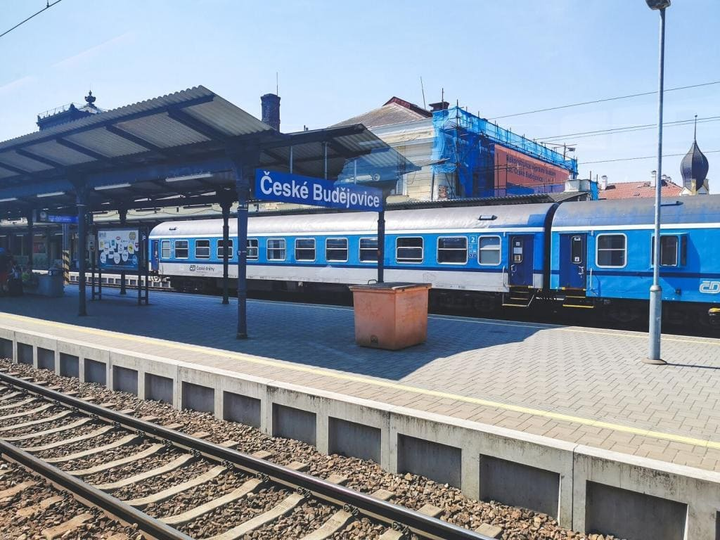 Ceske Budejovice peron