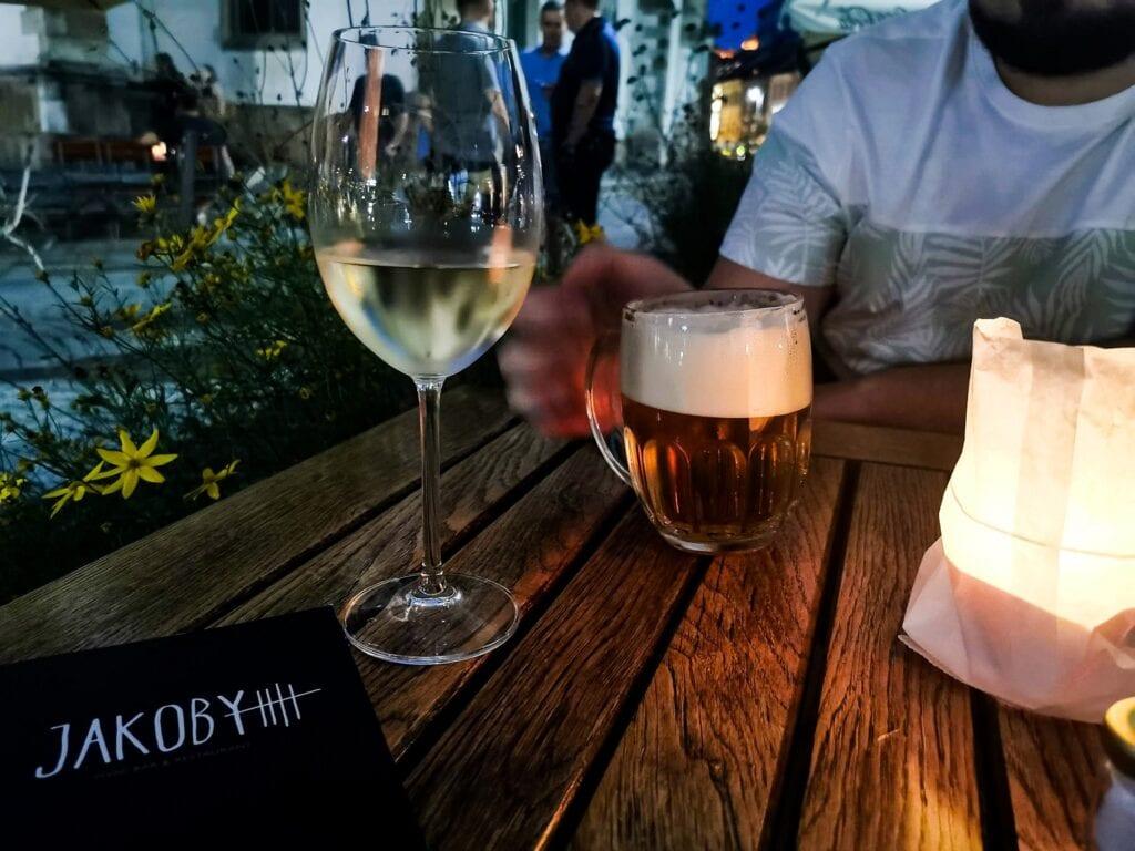 Wino piwo czechy brno